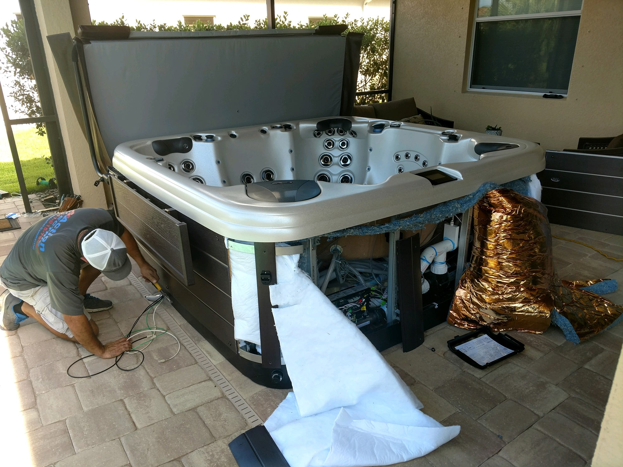 Legacy Hot Tub Repair in Sarasota