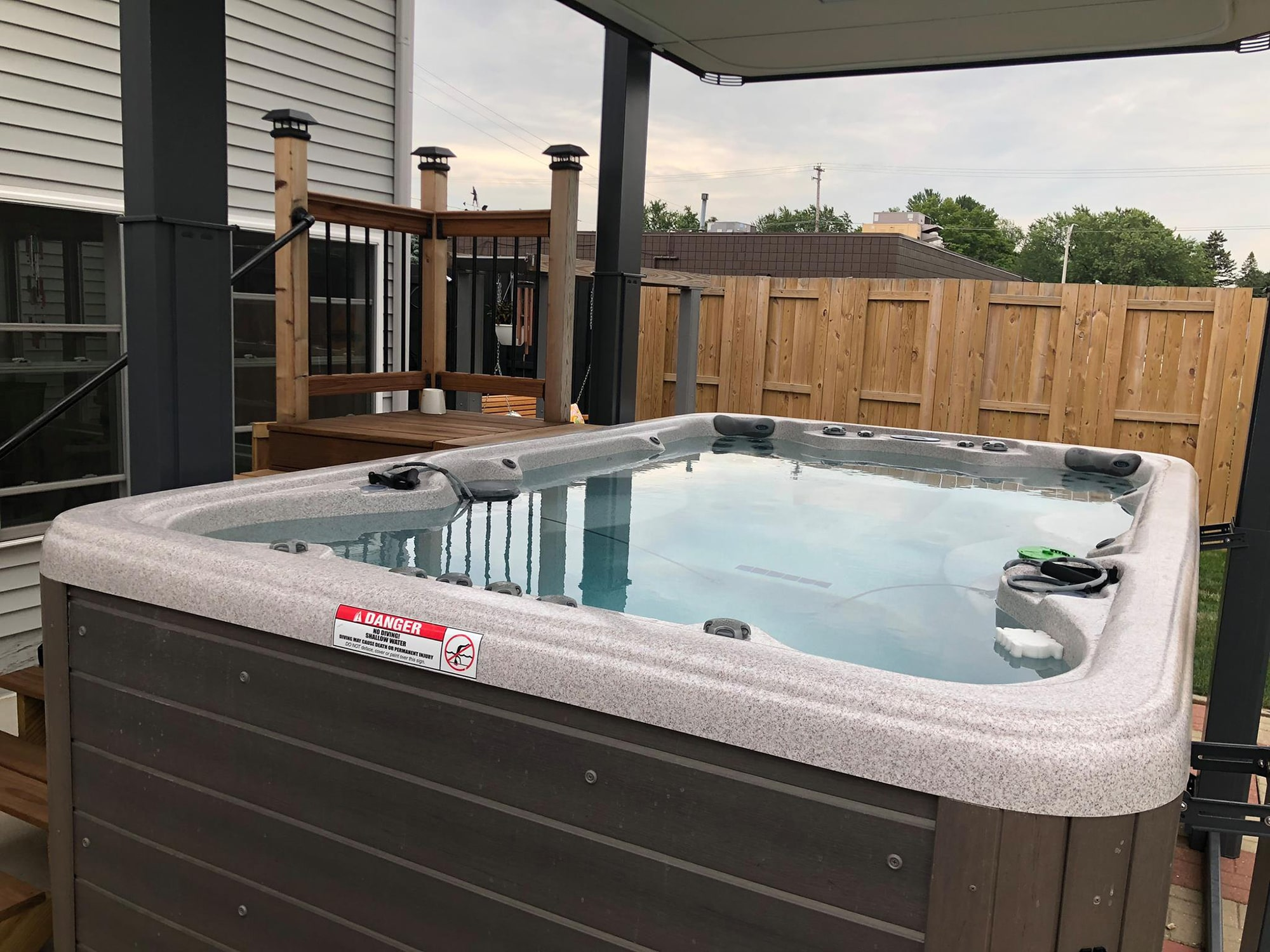 Vita Spa Hot Tub in Sarasota