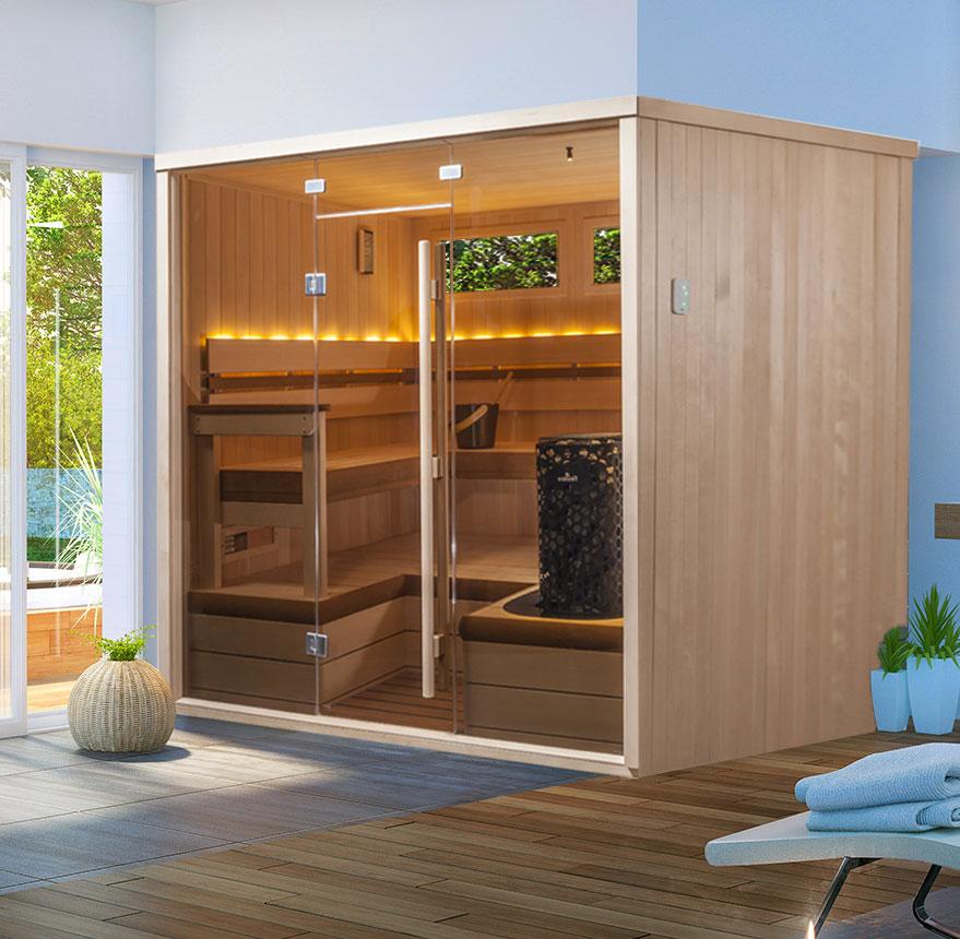 deco sauna in Sarasota